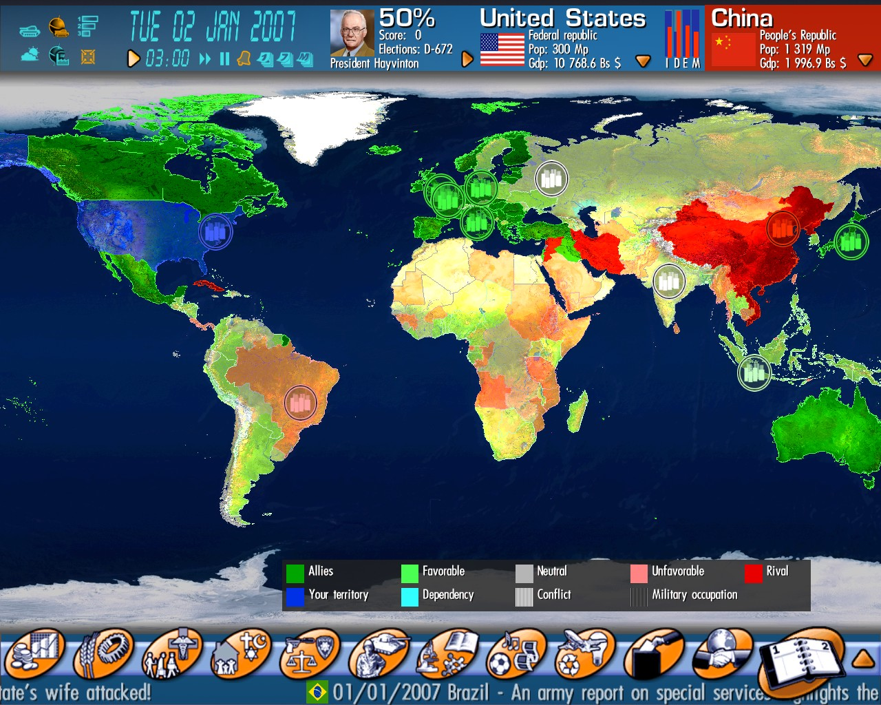 Geo-political Simulator - Official Website - The Game