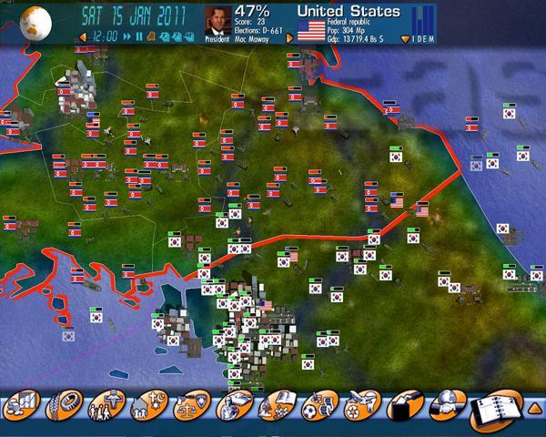 Geopolitical Simulator Скачать Торрент - фото 5